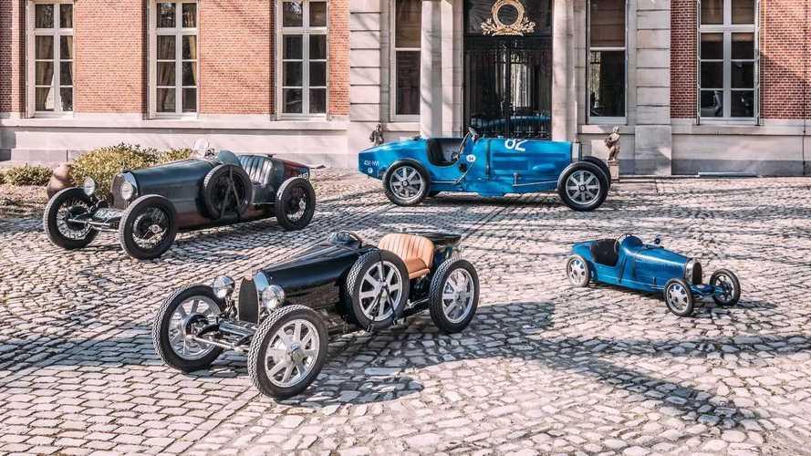 """Bugatti Baby II, iniziano le consegne del """"giocattolo"""" da 30.000 euro"""