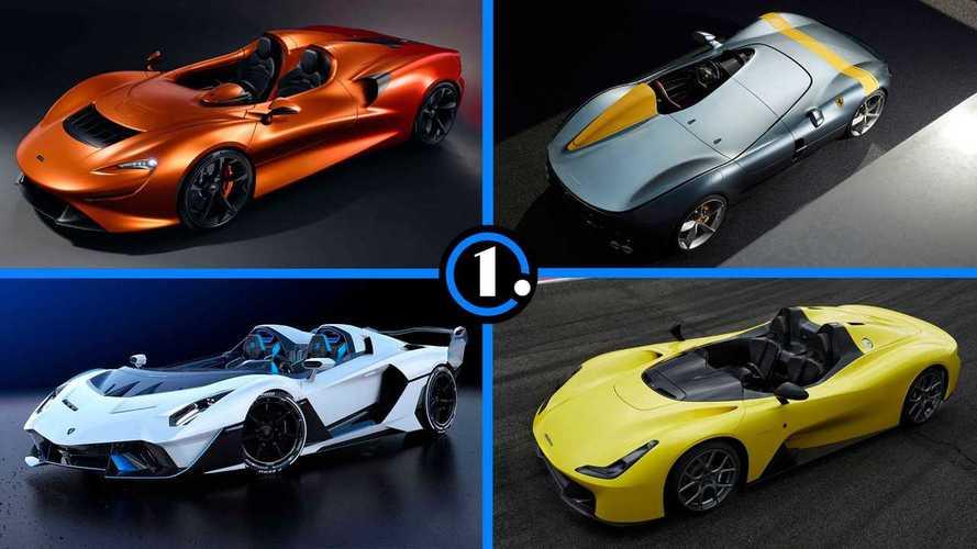 Los 10 coches sin parabrisas más interesantes de los últimos tiempos