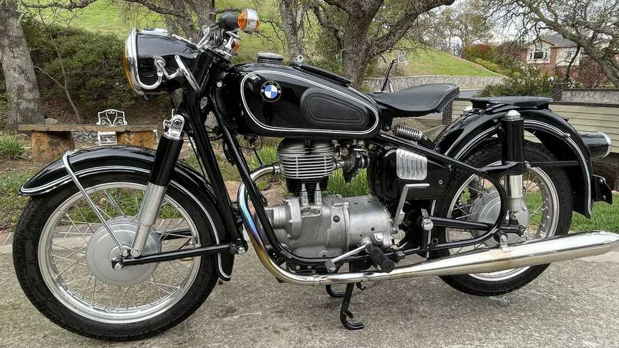 This 1965 BMW R27 Is A Black-And-White Single-Cylinder Beauty