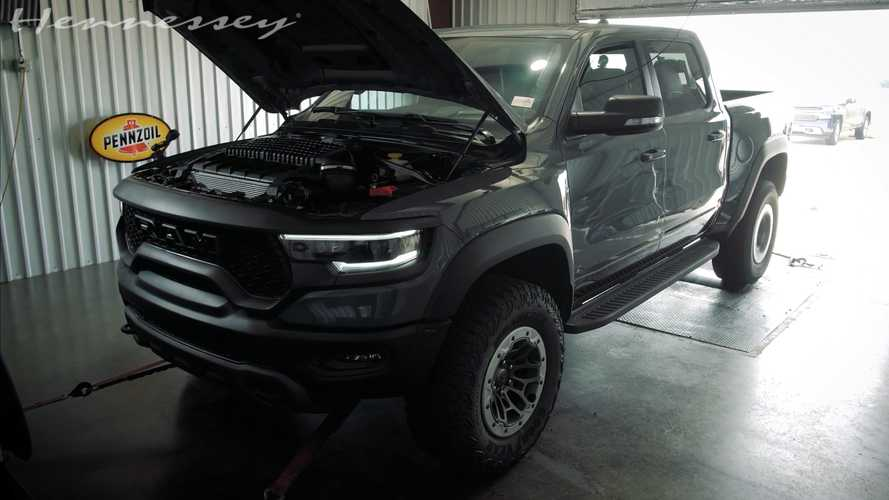 Hennessey Mammoth 1000 TRX Puts Down Impressive Dyno Numbers