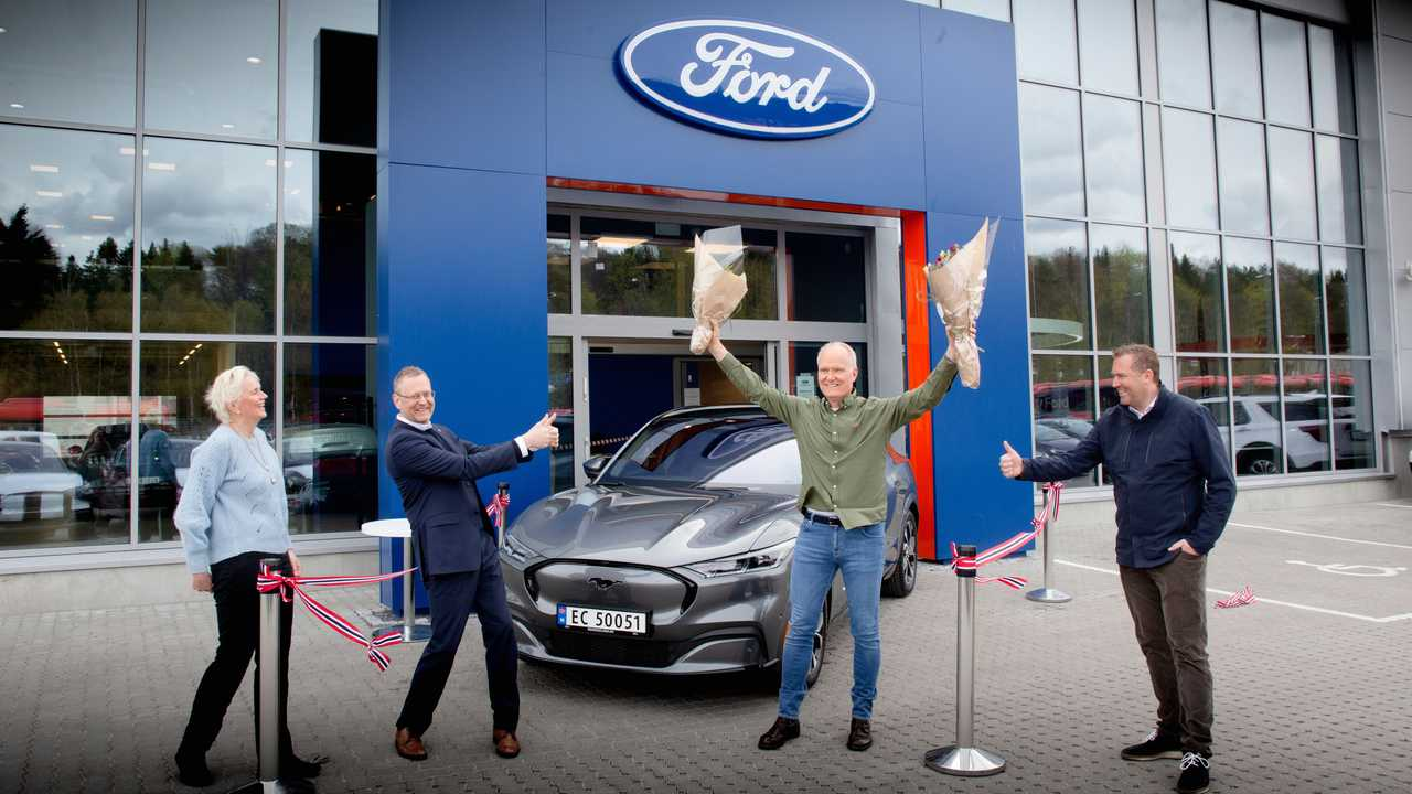 Ford Mustang Mach-E Deliveries In Norway