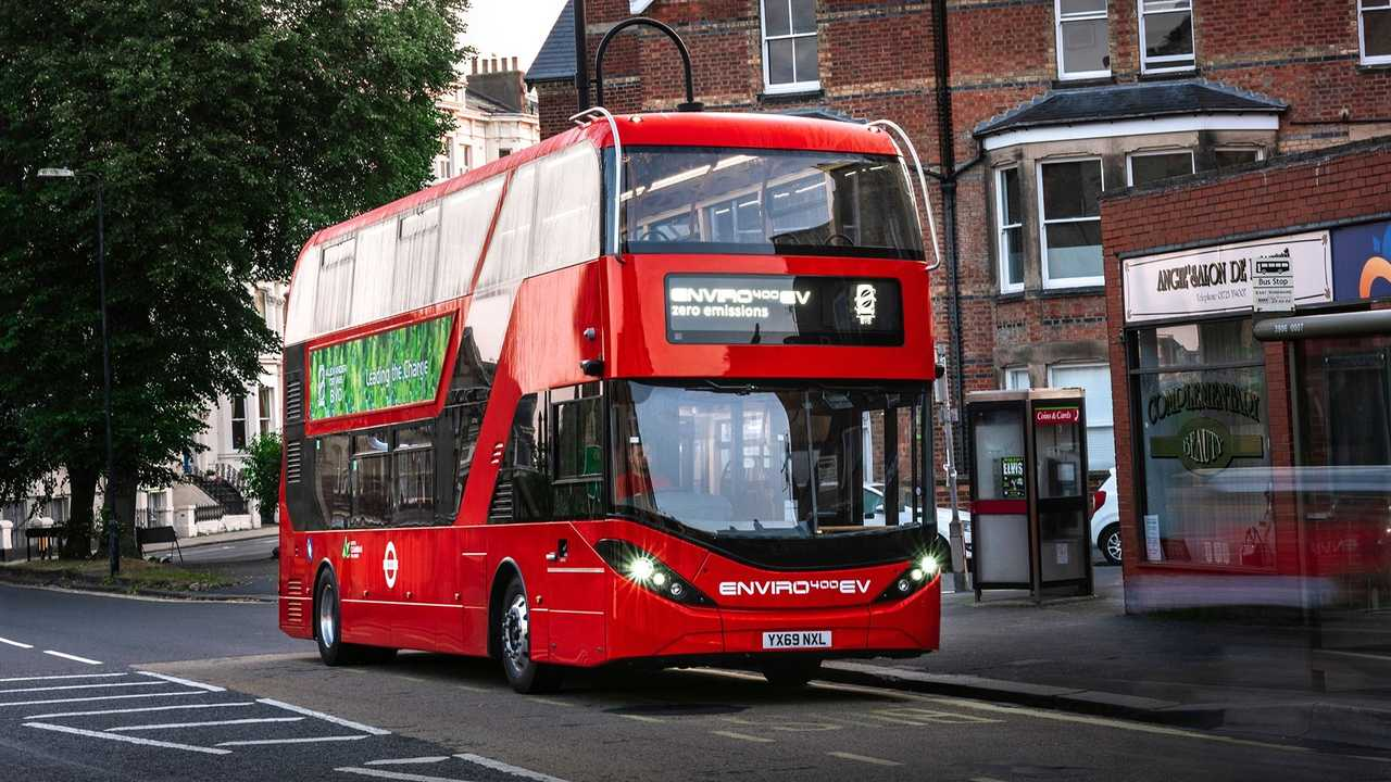 BYD ADL Enviro400EV no Reino Unido