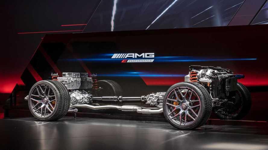 Le 4 cylindres hybride de Mercedes-AMG développe jusqu'à 650 ch !