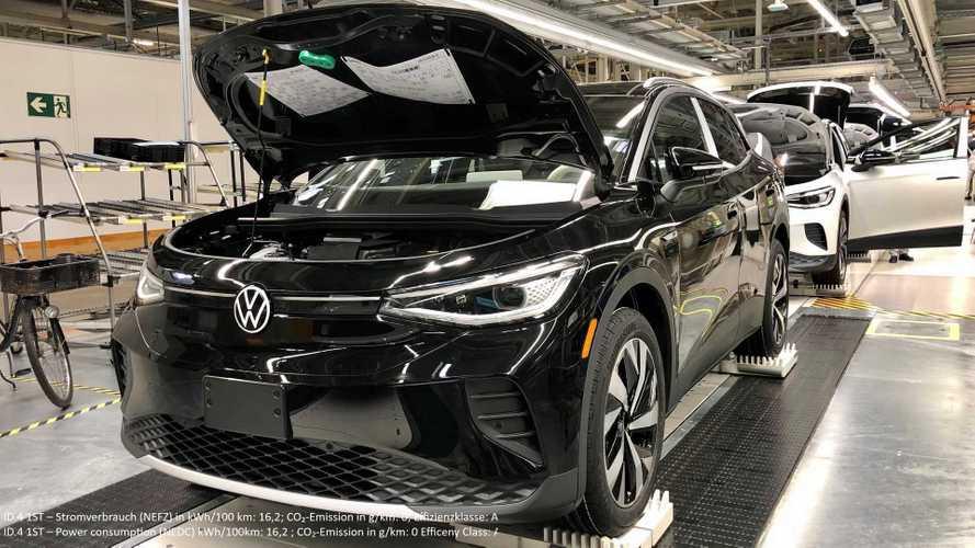 Volkswagen já produz 1.000 carros elétricos/dia em fábrica alemã