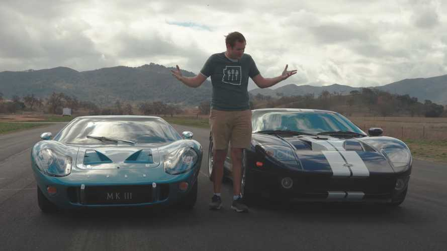 Doug DeMuro Races His Ford GT Against Ultra-Rare Classic GT40