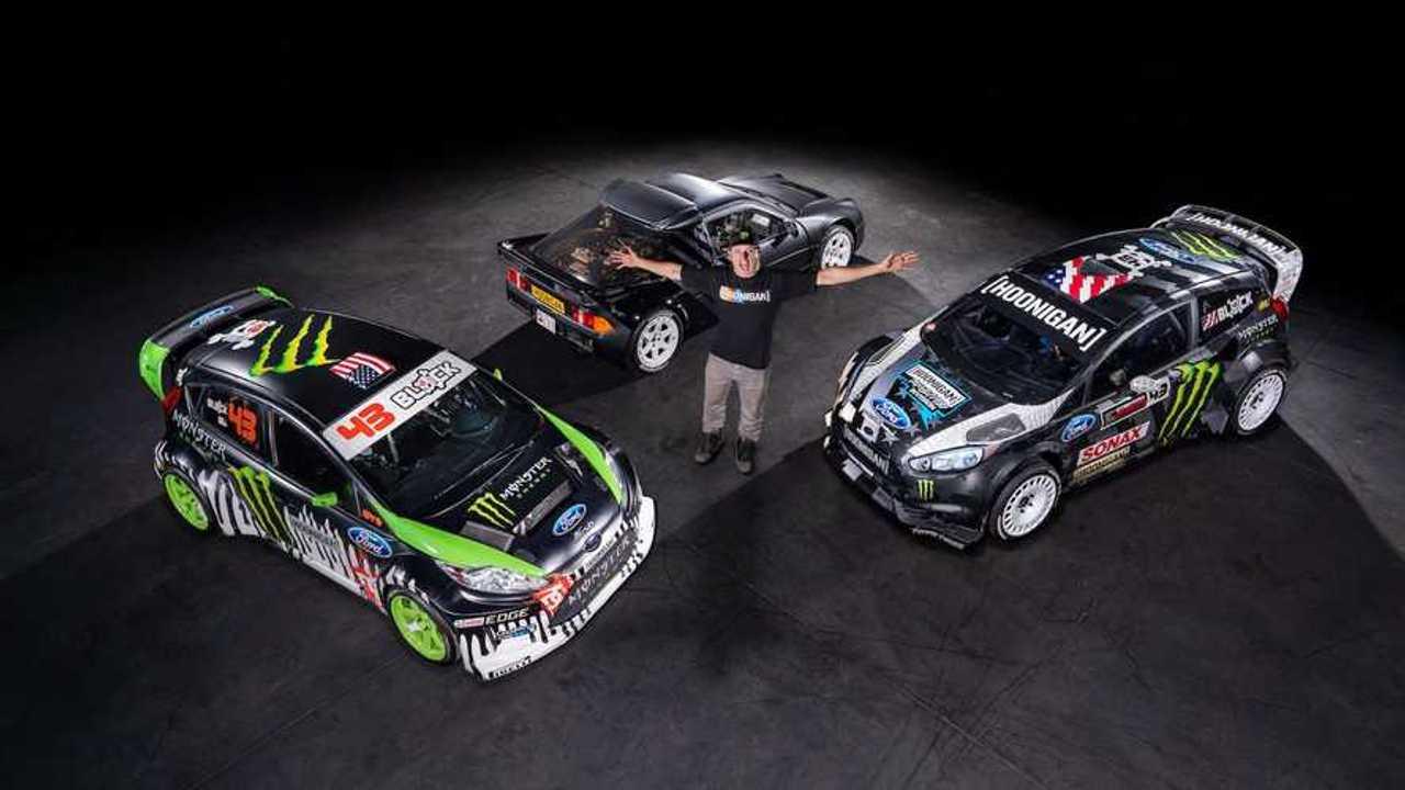 Ken Block subasta algunos de sus coches