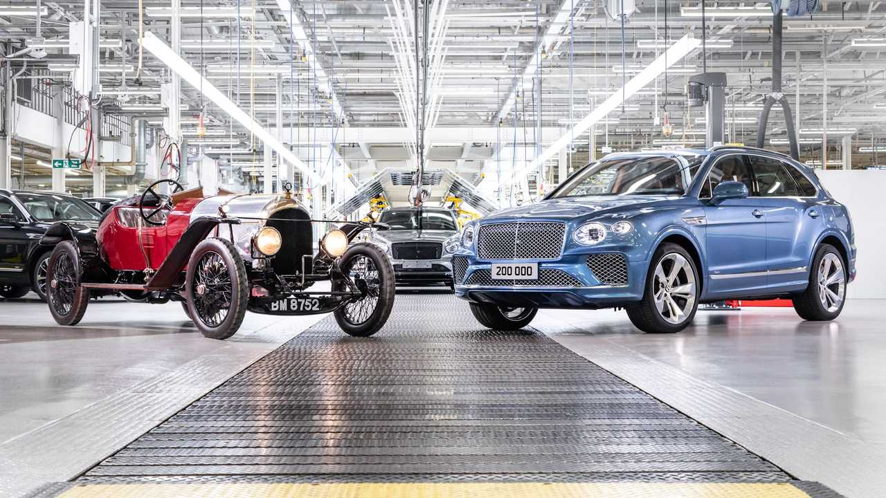 Bentley builds its 200,000th car.
