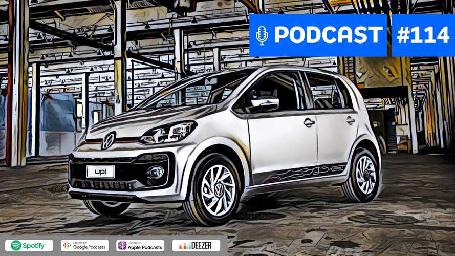 Motor1.com Podcast #114: Os erros e acertos do VW Up! no Brasil