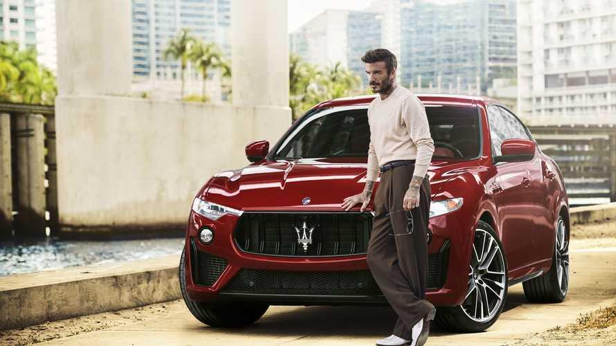 David Beckham, nouvel ambassadeur mondial de Maserati