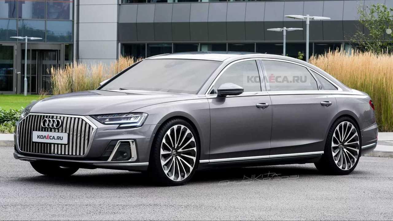 Dieses inoffizielle Rendering zeigt wie ein luxuriöser Audi A8 Horch aussehen könnte