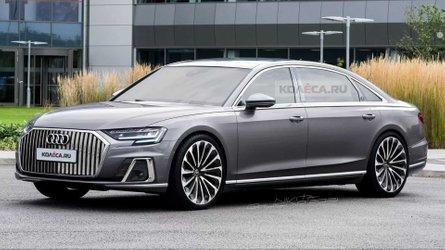 High-End-Version Audi A8 Horch: So könnte er aussehen