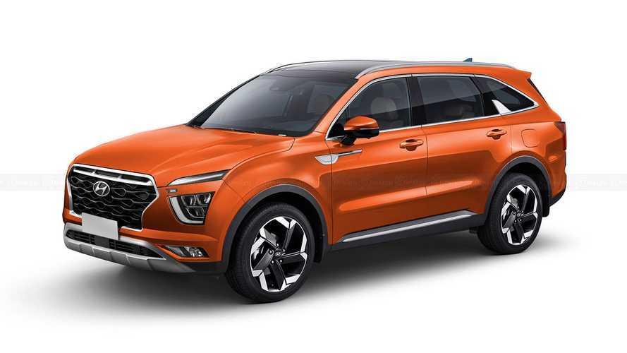 Hyundai Alcazar: novo Creta de 7 lugares será revelado dia 6 de abril