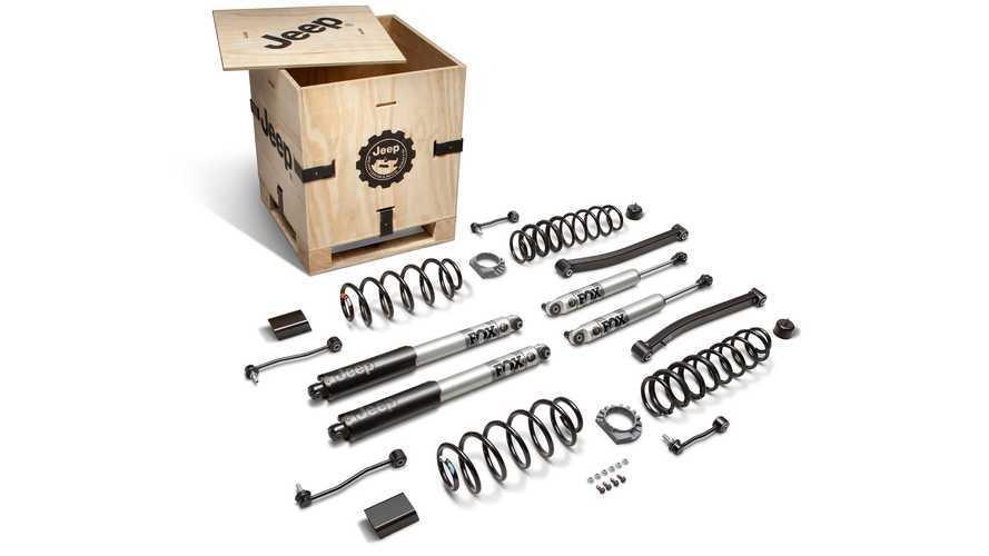 Nuevos accesorios para el Jeep Wrangler 4xe