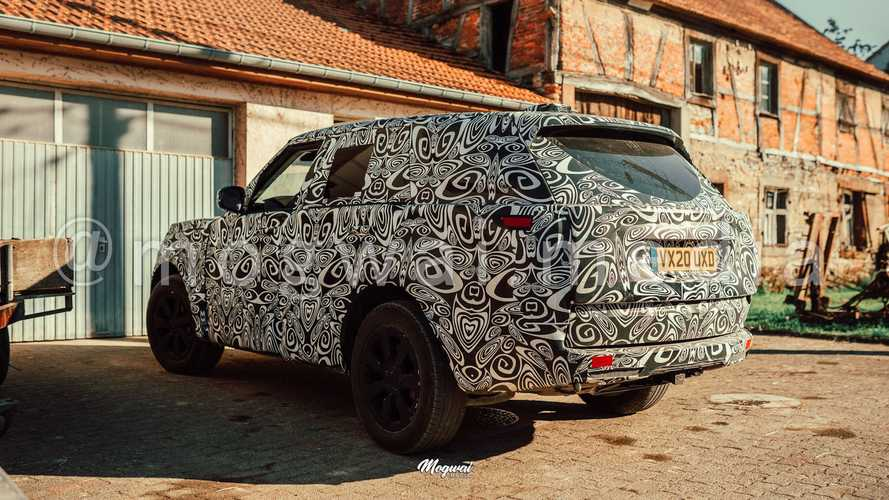 New Land Rover Range Rover Spy Photos