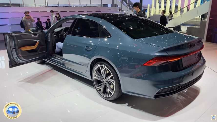 Audi A7L (2021): Video zeigt das China-Stufenheck im Detail