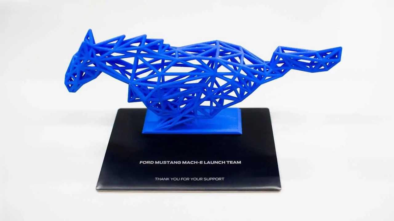Ford Mustang Mach-E Sculpture