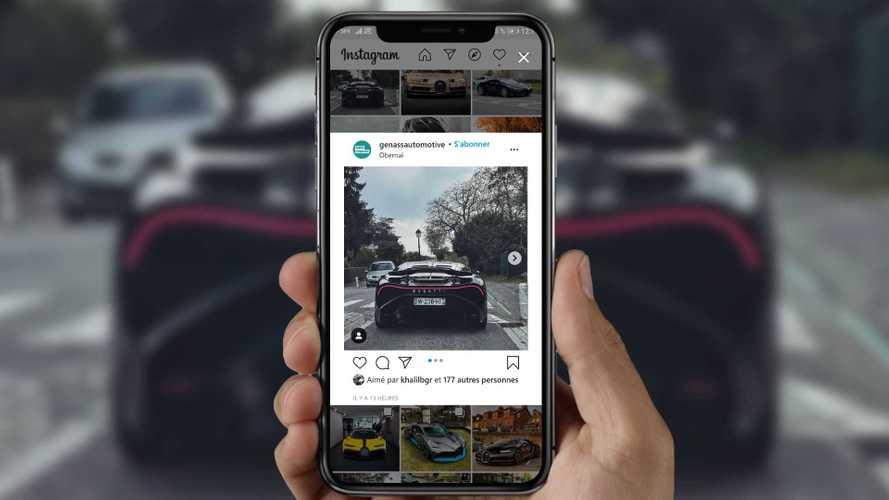 La Bugatti La Voiture Noire roule pour la première fois !