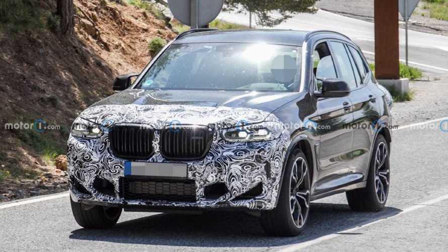 New 2022 BMW X3 M Spy Shots