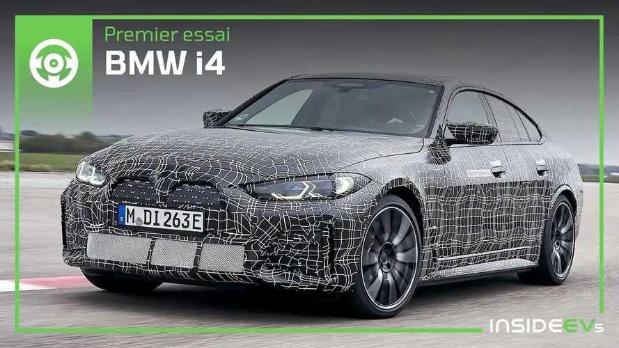 BMW i4 - Premier essai en exclusivité, même en version M50