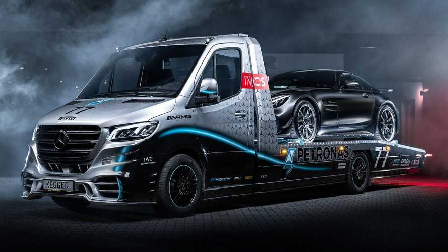 Mercedes-Benz Sprinter Petronas Edition от фирмы Kegger