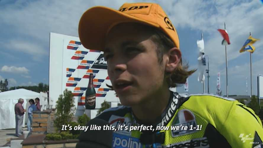 Watch Rossi Take You Back To The Start Of His MotoGP Career