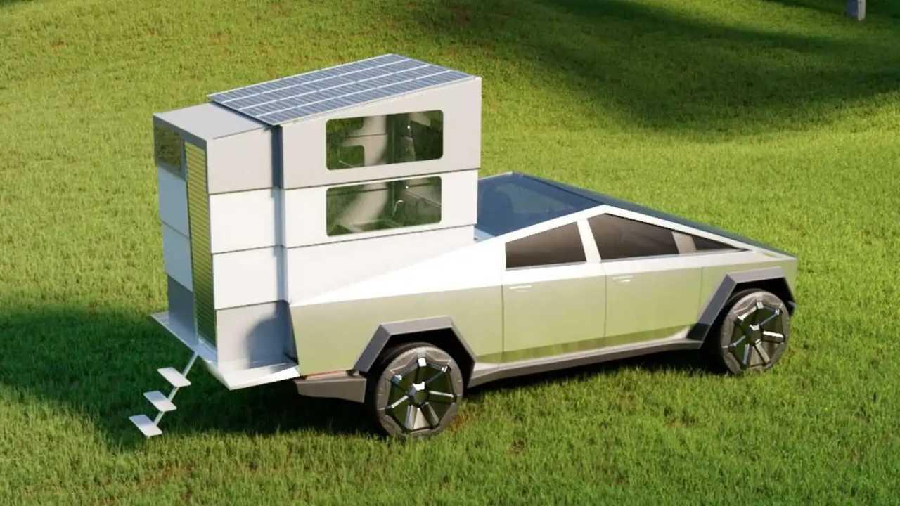 Camper Cyberlandr per Tesla Cybertruck
