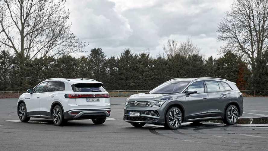 Volkswagen снабдил свой первый электрокроссовер 3-м рядом сидений