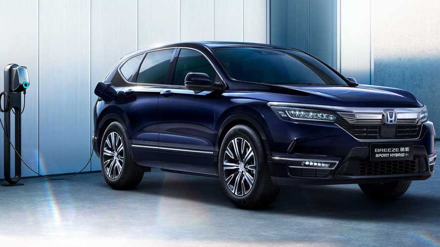 Honda Reveals The  SUV E:Prototype And Breeze PHEV At Auto Shanghai 2021