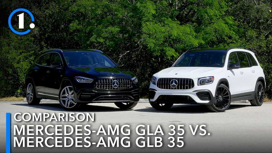 Mercedes-Benz GLA Vs GLB: What Are The Differences?
