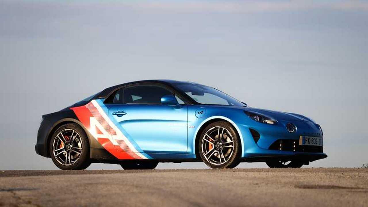 Alpine A110 Trackside, omaggio al Team di Formula 1