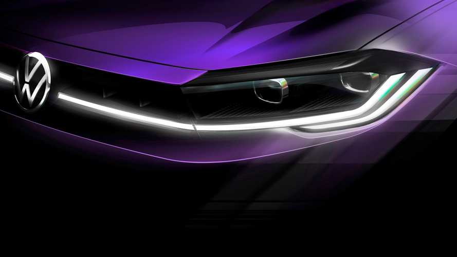 2021 Volkswagen Polo Facelift Teased Ahead Of April 22 Premiere