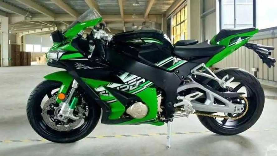 Serius! Ini Bukan Kawasaki Ninja tapi Xinshiji Finja Buatan Cina