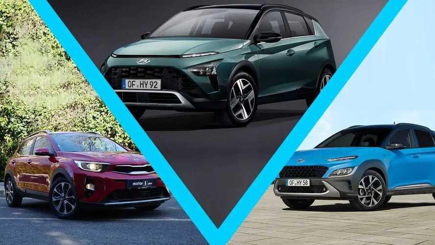 Aile içi rekabet: Hyundai Bayon vs Hyundai Kona vs Kia Stonic