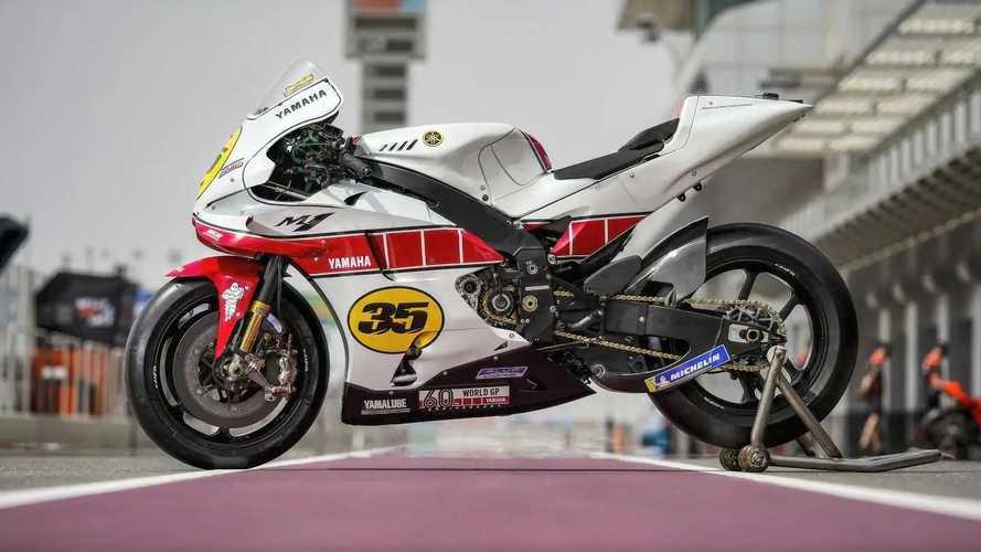 Yamaha Factory Racing MotoGP 60th Anniversary Livery 2021