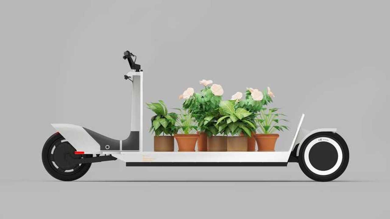 Der Re:Move ist ein Elektro-Tretroller für den Lastentransport