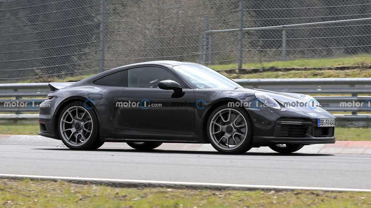 Porsche 911 Sport Classic Spy fotók Alacsony oldal