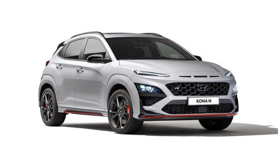 Hyundai, merakla beklenen Kona N'in örtüsünü kaldırdı!