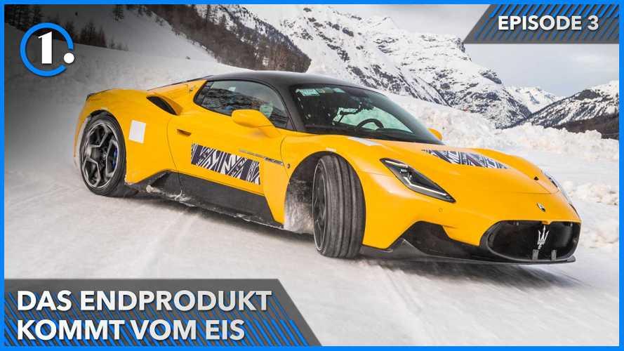 Maserati MC20: Vom Eis in Livigno zur Endproduktion in Modena