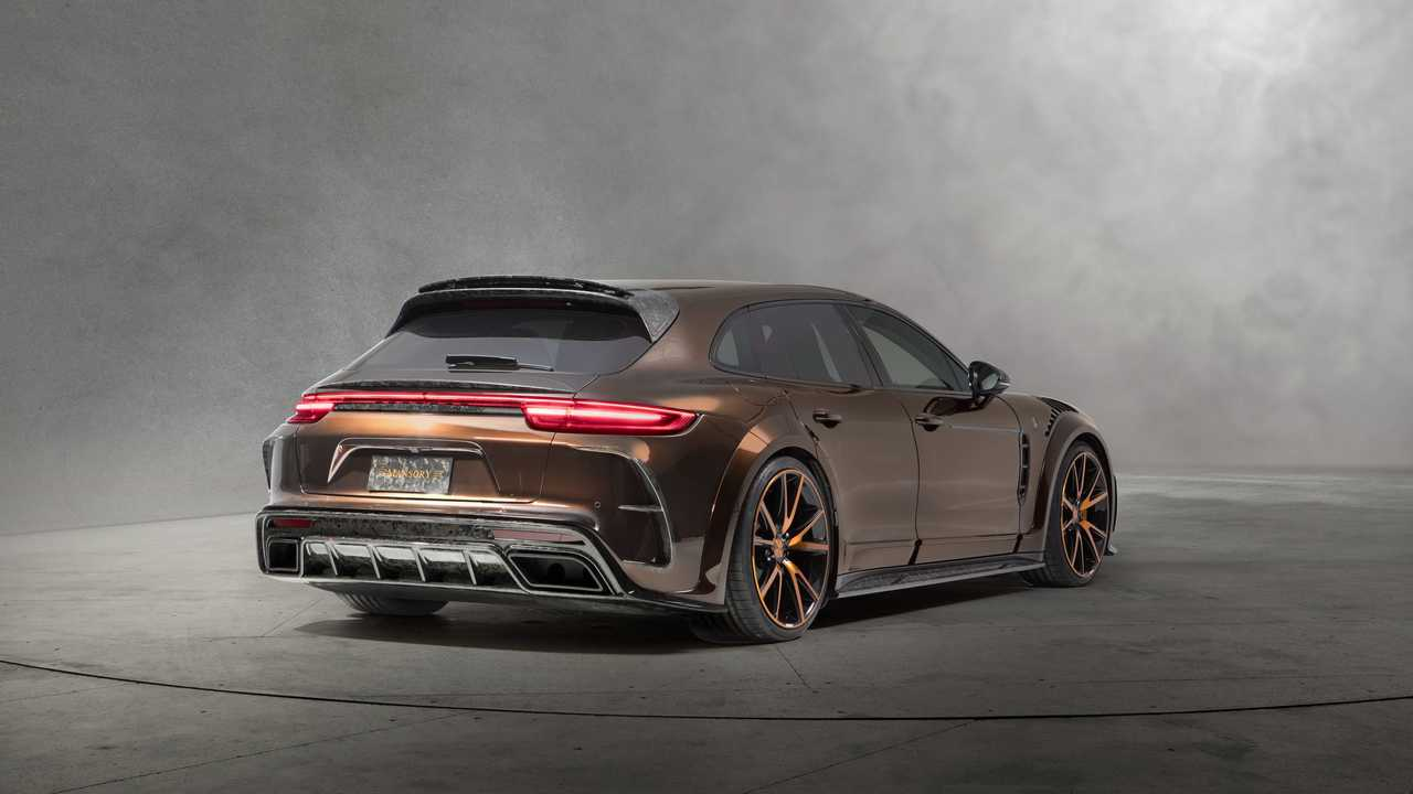 Porsche Panamera Sport Turismo by Mansory