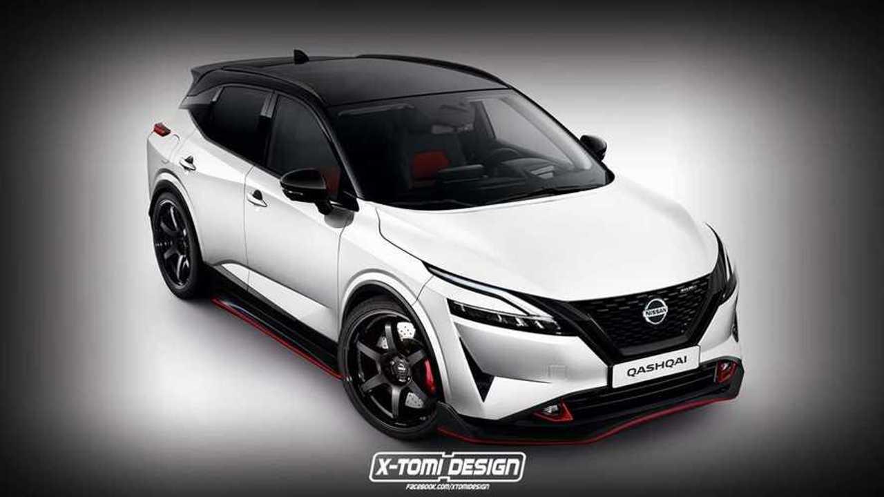 2021 Nissan Qashqai Nismo hayali tasarımı