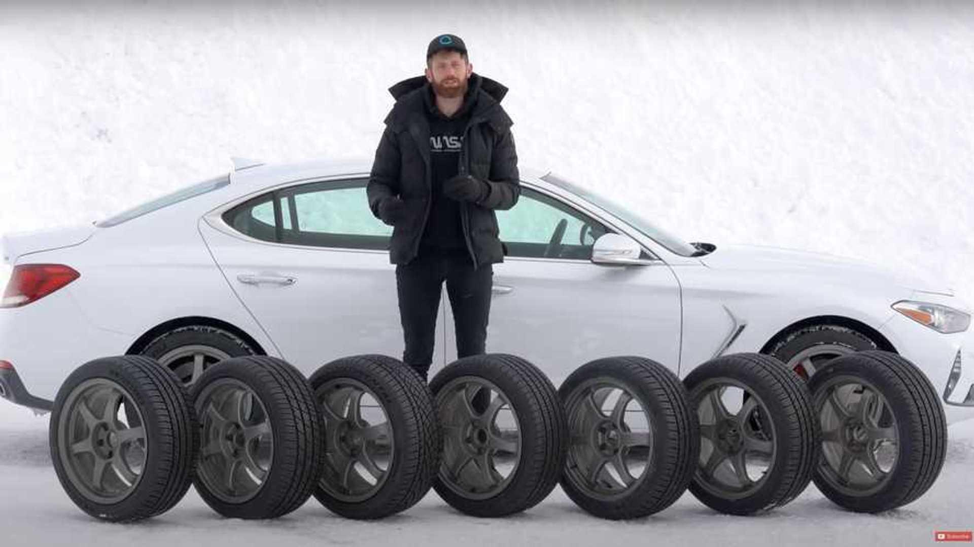 Тесты высокопроизводительных всесезонных шин показали удивительные результаты на снегу