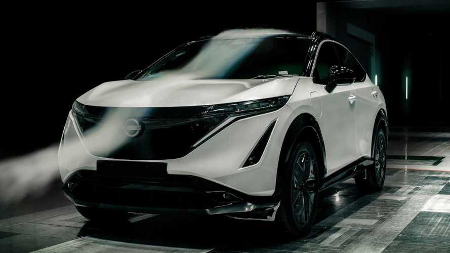 Nissan Ariya markanın en aerodinamik SUV'si oldu