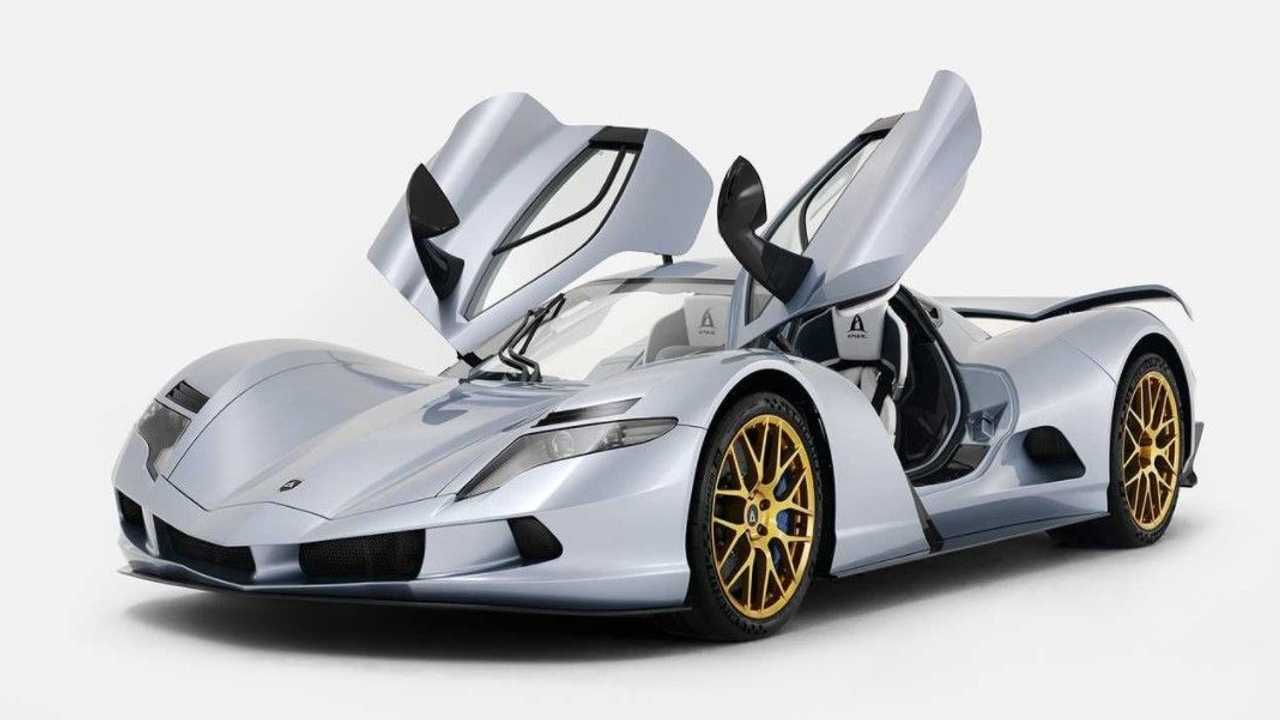 Aspark Owl merupakan mobil listrik tercepat di dunia dengan akselerasi 0-60 mil/jam diklaim hanya ditempuh dalam 1,2 detik.