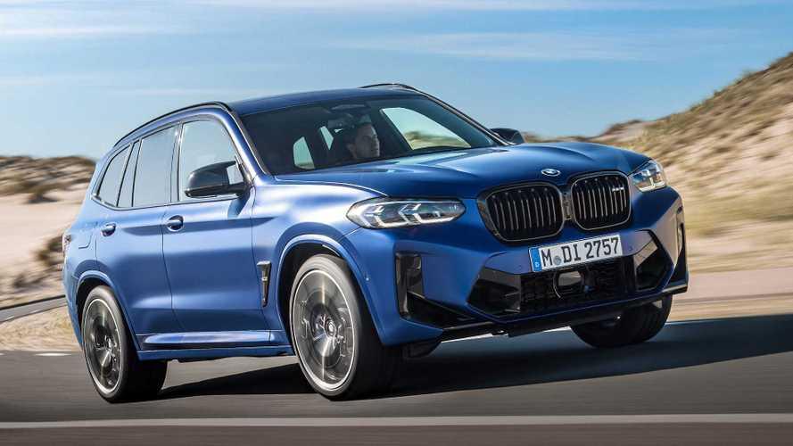 BMW обновила кроссоверы X3 и X4 (включая M-версии)