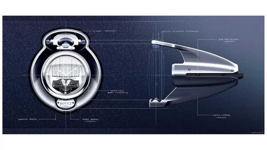 Уникальные часы от Rolls-Royce