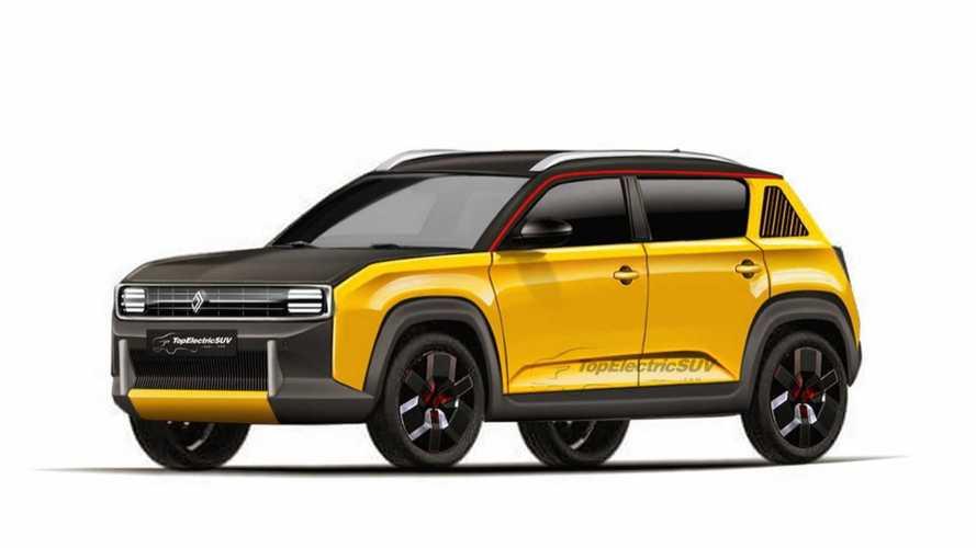 Te adelantamos el Renault 4L eléctrico de producción