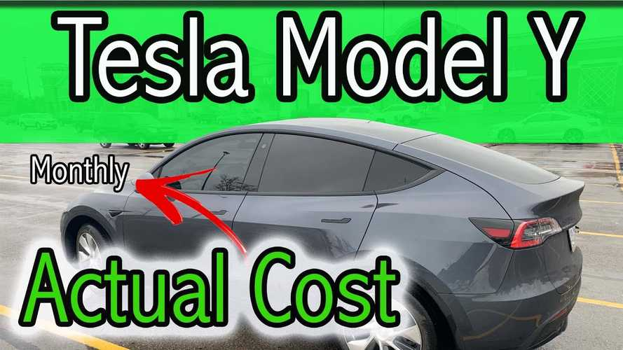 Here's A Breakdown Of Actual Monthly Tesla Model Y Ownership Cost