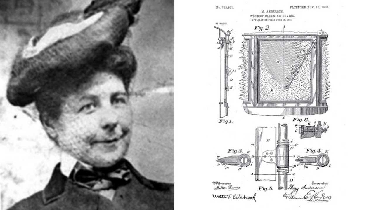 Мэри Андерсон – «мать» автомобильных «дворников»