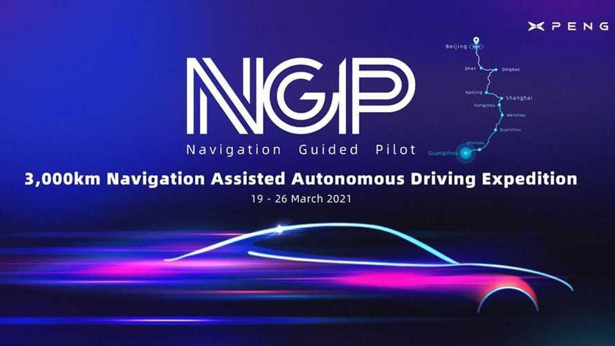 Xpeng Begins Ambitious 2,284-mile Cross-Country Autonomous Media Drive