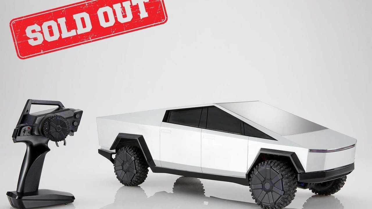 Hot Wheels R/C 1:10 Scale Tesla Cybertruck Deliveries Start Soon